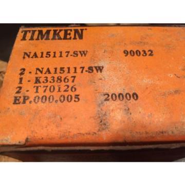 NA151177-SW-90032 NAK 33867 TIMKEN TAPERED ROLLER BEARING