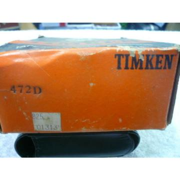 TIMKEN 472D TAPERED ROLLER BEARING CUP .. NEW OLD STOCK.. UNUSED