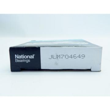 (Lot of 2) National JLM704649 Tapered Roller Bearing New