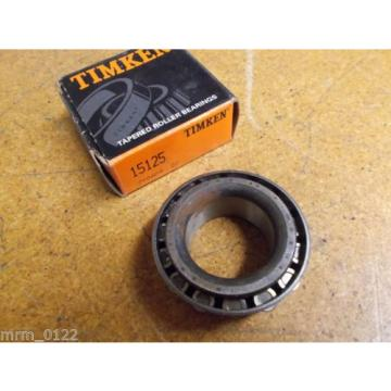 Timken 15125 Tapered Roller Bearing 32mm ID New
