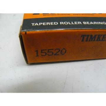NEW TIMKEN 15520 TAPERED ROLLER BEARING