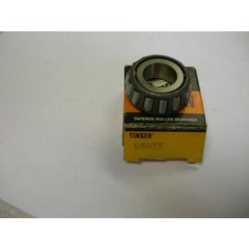 TIMKEN 05075 TAPERED ROLLER BEARING  NIB