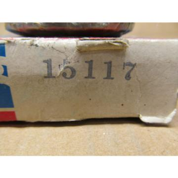 "1 NIB SKF 15117 TAPERED ROLLER BEARING CONE 1-13/16"" ID X 13/16"" W"