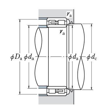 Two Row Cylindrical Bearings  NN4038