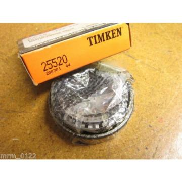 TIMKEN 25520 Bearing Tapered Roller 3.265X.75IN NEW
