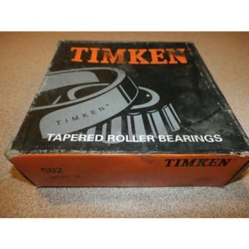 TIMKEN TAPERED ROLLER BEARING 582