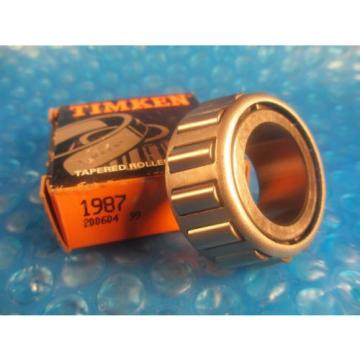 """Timken 1987, Tapered Roller Bearing Cone 1.0620"""" Straight Bore; 0.7620"""" Wide"""