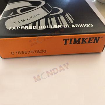 Timken  67885 - 67820, Tapered Roller Bearings - TS (Tapered Single) Imperial