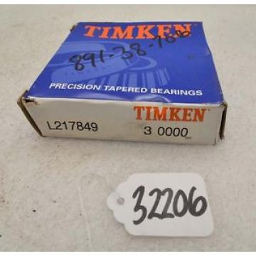 Timken L217849 tapered roller bearing (Inv.32206)
